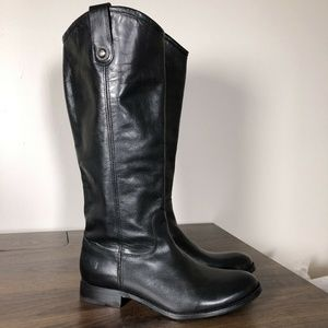 New Frye Melissa Button 2 Tall Boots Size 7.5